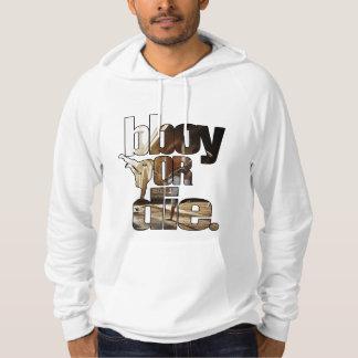 bboy eller matris sweatshirt med luva
