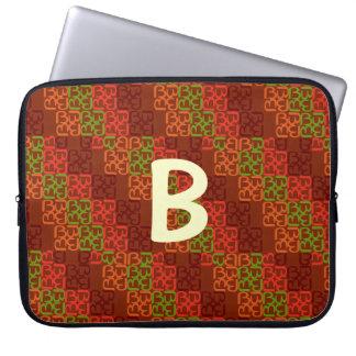 BbParade röd jord Laptop Fodral