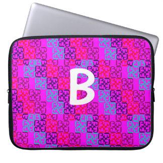BbParade Zingy rosor Laptop Sleeve