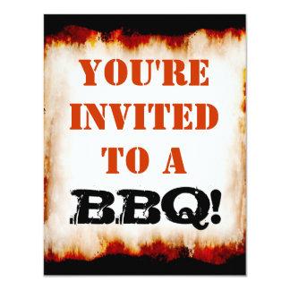 Bbq-party! Inbjudan