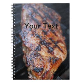 Bbq-Steak Anteckningsbok