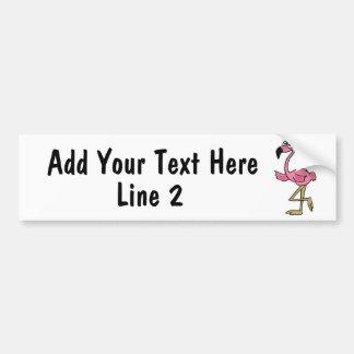 BC- beställnings- rosa Flamingobildekal