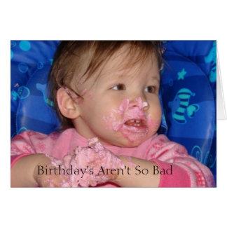 bday5 födelsedag är inte så dåligan hälsningskort