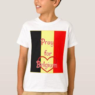Be för Belgien Tee Shirts