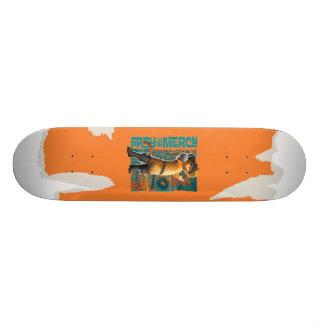 Be för förskoning (blått) mini skateboard bräda 18,5 cm