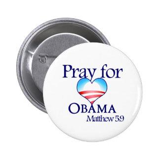 Be för Obama knäppas Standard Knapp Rund 5.7 Cm