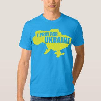 Be för Ukraina som kicken avslutar skjortan T-shirt