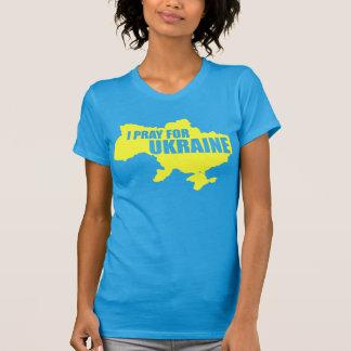 Be för Ukraina som kvinna kick avslutar T T-shirt