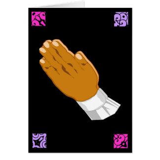 Be händerpåskhälsningar mig hälsningskort