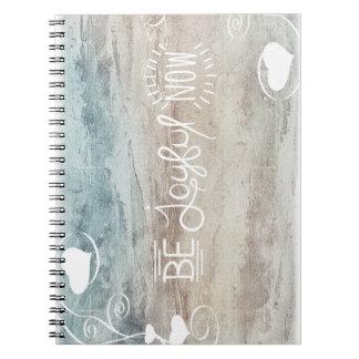 Be joyful notitieblok anteckningsbok