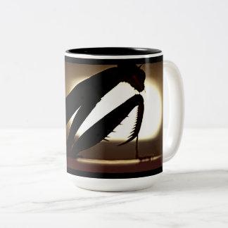 Be mugg för bönsyrsaSilhouettekaffe