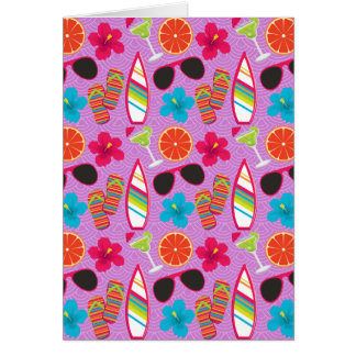 Beachball för solglasögon för strandpartyflinflip hälsningskort