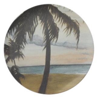 Beachie bordsservis tallrik