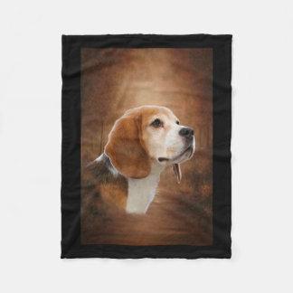 Beagle Fleecefilt