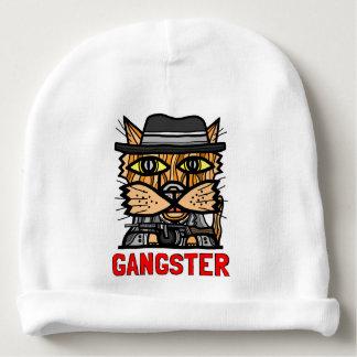 """Beanie """"för gangster"""" babybomull"""
