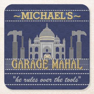 Bearbetar det roliga garage Mahal för mangrottan | Underlägg Papper Kvadrat
