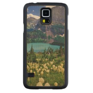 Beargrass ovanför Grinnell sjön i många Carved Lönn Galaxy S5 Skal