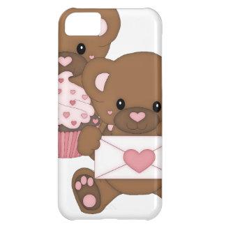 Bearly kärlek iPhone 5C mobil skydd