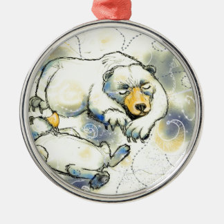 Bearly sova julgransprydnad metall