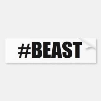 #beast bildekal