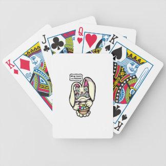 Beaster kanin spelkort