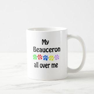Beauceron går design kaffemugg