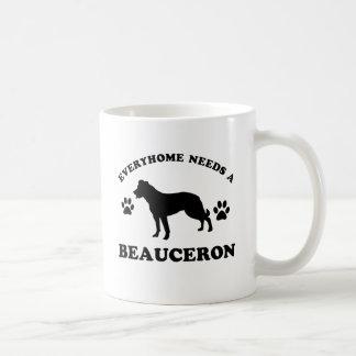 Beauceron hund avelndesigner kaffemugg