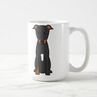 Beauceron hundtecknad kaffemugg