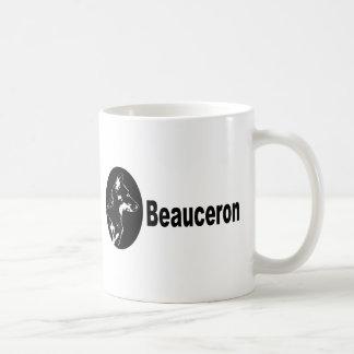 Beauceron porträtt kaffemugg