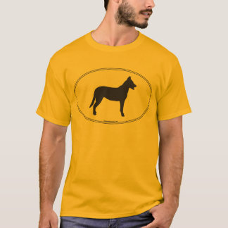 Beauceron Silhouette T Shirts