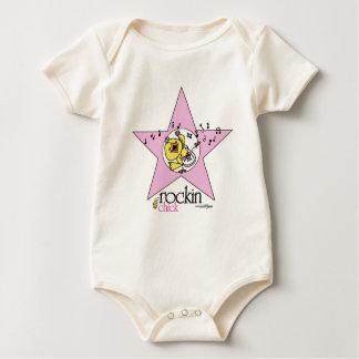 Bebis för Rockin chickmusik Body För Baby