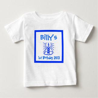 bebis första födelsedag, bebis 1st tee shirt