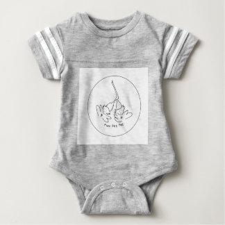 bebisfotbollbodysuit t-shirt