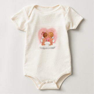 bebist-skjorta ängel bodies