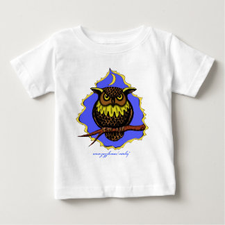 Bebist-skjorta för uggla rolig design tee