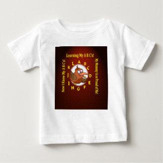 bebist-skjorta som lärer alfabetabc tröjor