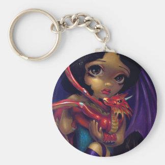 """Bedårande Dragonling mig"" Keychain Nyckelring"