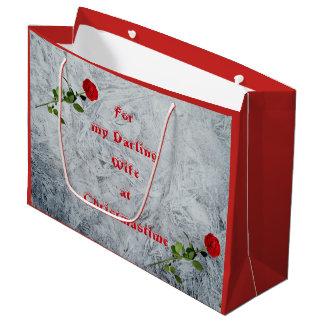 Bedårande fru för röd ros på juldesignen