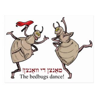 Bedbugsdansen! Vykort