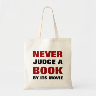 Bedöma aldrig en bok vid dess film | för tygkasse
