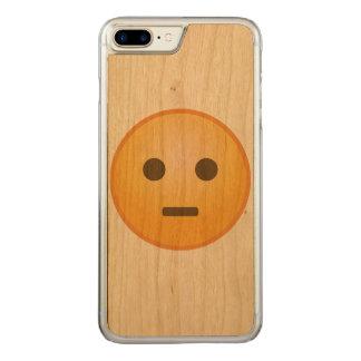 Bedöma Emoji Carved iPhone 7 Plus Skal