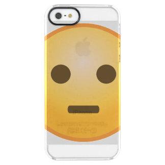 Bedöma Emoji Clear iPhone SE/5/5s Skal