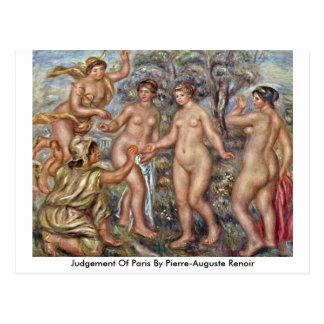 Bedömning av Paris vid Pierre-Auguste Renoir Vykort