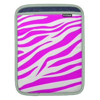 Bedöva zebra tryck iPad sleeve