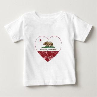 bedrövad hjärta för Kalifornien flaggaandersson T-shirt