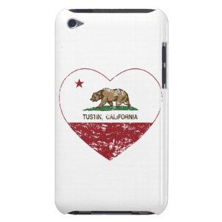 bedrövad hjärta för Kalifornien flaggatustin iPod Touch Case-Mate Case