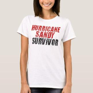 Bedrövad spagettitank för orkan sandig överlevande t shirts