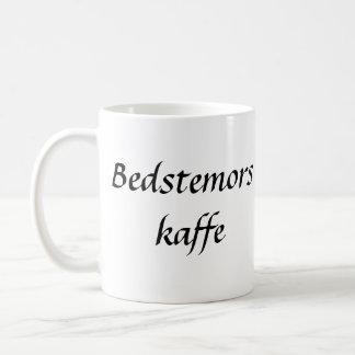 Bedstemors Kaffe Vit Mugg