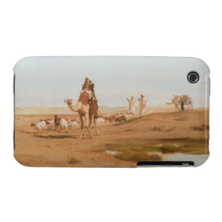 Beduin i öknen, 1884 (olja på kanfas) iPhone 3 cases