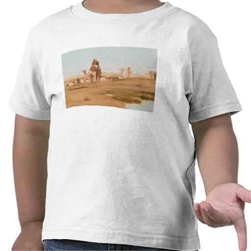 Beduin i öknen, 1884 (olja på kanfas) tee shirts